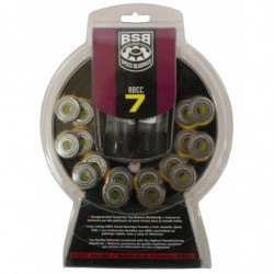 BSB ABEC 7 bearings for inline skates