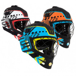 Salming Goalie Travis Elite Floorball Tormann Helm - Senior