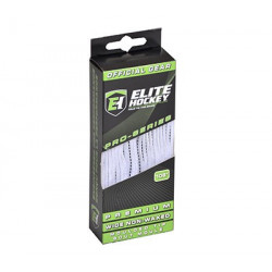 Elite Premium Schnürsenkel - Weiß/Schwarz