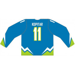 Slovenian Hockey Team Fan jersey Custom Made