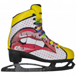Powerslide Pop Art Blondie women recreational ice skates - Senior