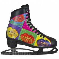 Powerslide Pop Art Lips women recreational ice skates - Senior