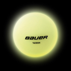 Bauer glow in the dark Hockeybäll