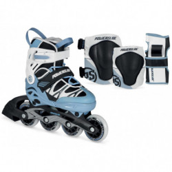 Powerslide Phuzion Orbit Combo Boys Inline Skates set - Junior