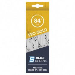 Blue Sports Gold gewachst Schnursenkel