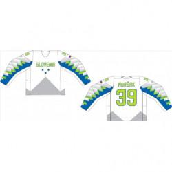Fan jersey of Slovenian Olympic Hockey Team 2018 premium