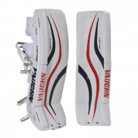 Hockey goalie leg pads