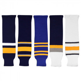 Hockey knit socks