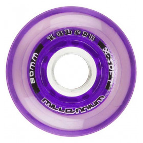 Soft wheels for hockey inline skates