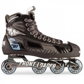 Inline hockey goalie skates